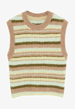 GUSSY - Jumper - pastel yellow