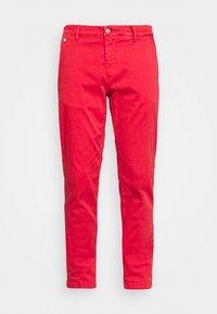 BENNI PANTS - Chinos - vintage red
