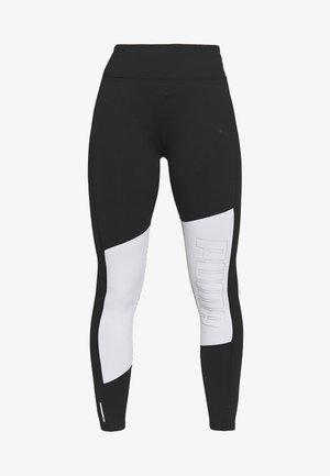 LOGO GRAPHIC  - Leggings - black/white