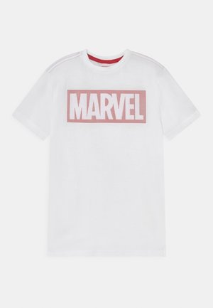 Print T-shirt - brilliant white