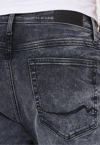 Harlem Soul - Denim shorts - blue black used - 7