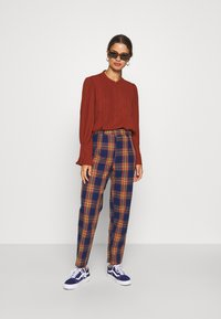 Missguided Petite - Trousers - navy - 1