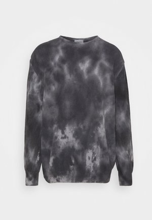 SWEATER TIE DYE - Maglione - black