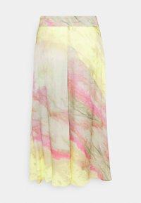 Esqualo - SKIRT BLURRED PRINT - Maxi skirt - multi-coloured - 1