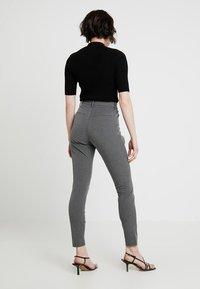 Fiveunits - ANGELIE - Trousers - grey melange - 2