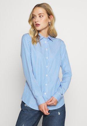 ESSENTIAL - Button-down blouse - copenhagen blue