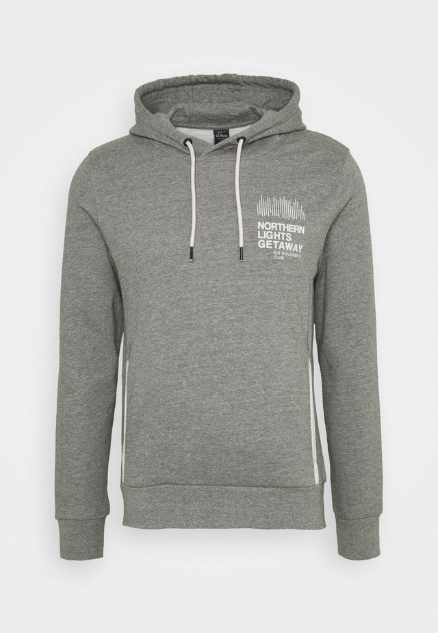 LANGARM - Hoodie - light grey