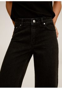 Mango - CANDY - Flared jeans - black denim - 5