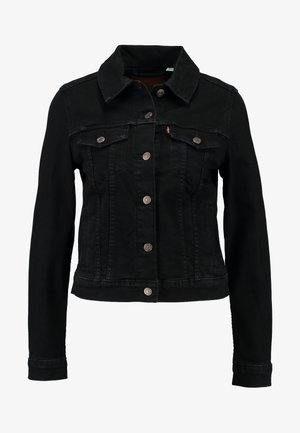 ORIGINAL TRUCKER - Veste en jean - black