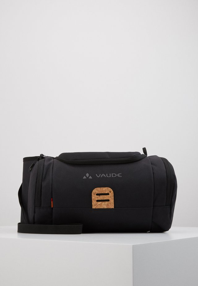 EBOX UNISEX - Taška spříčným popruhem - black