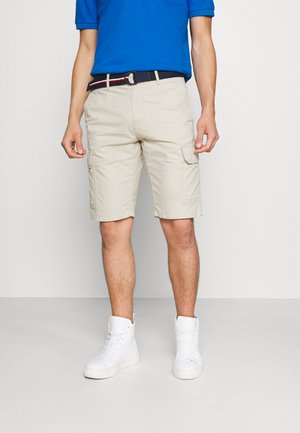 JOHN CARGO BELT - Shorts - classic beige