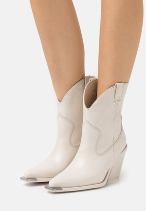 NEW KOLE - High heeled ankle boots - offwhite