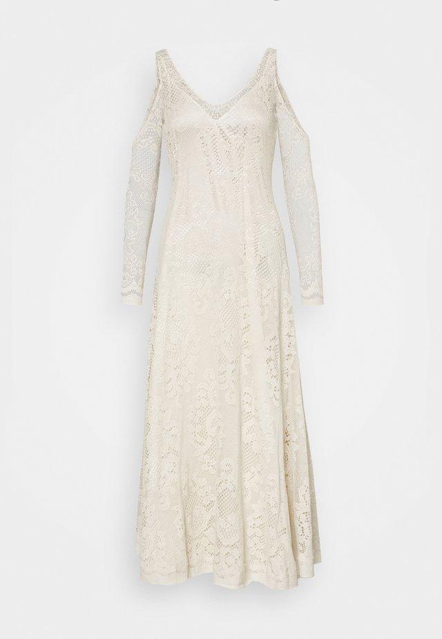 FRANCES DRESS - Gebreide jurk - cream
