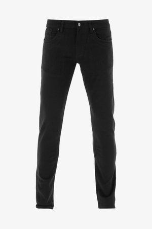 SPIDER - Slim fit jeans - black