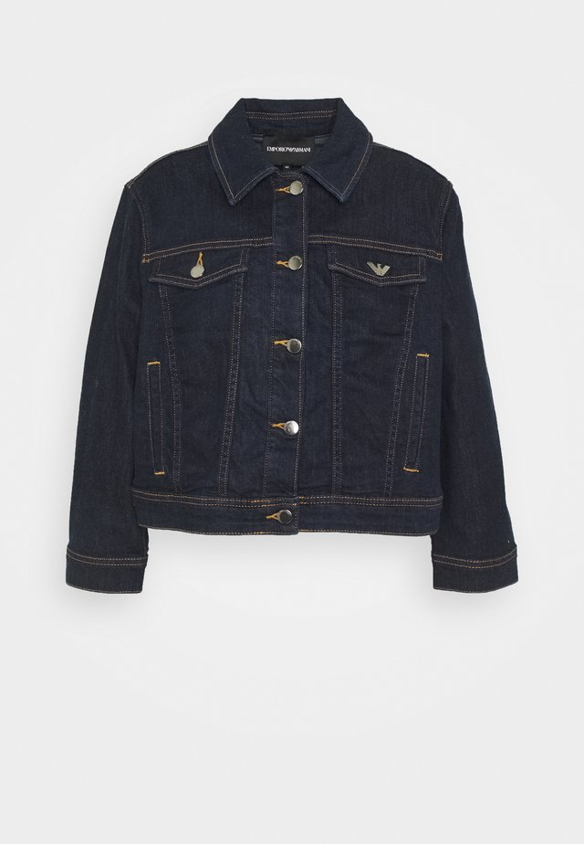 BLOUSON JACKET - Chaqueta vaquera - denim blue
