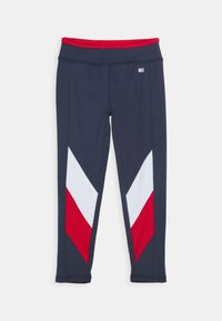 Tommy Hilfiger - SPORT COLORBLOCK TIGHTS - Leggings - blue - 0