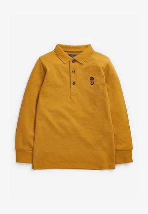 Poloshirt - ochre