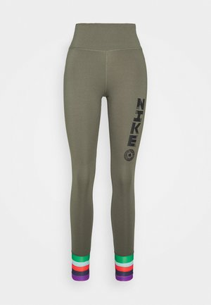 ONE - Leggings - twilight marsh/black