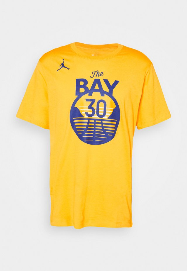 NBA GOLDEN STATE WARRIORS STEPH CURRY NAME NUMBER TEE - Club wear - amarillo