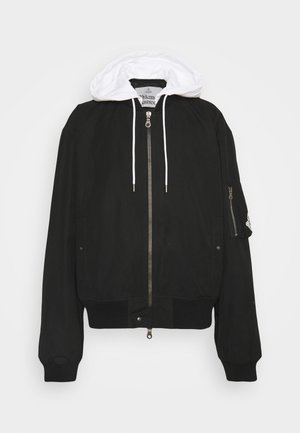 UNISEX - Bomber Jacket - black