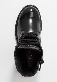 Tommy Hilfiger - Botines con cordones - black - 1
