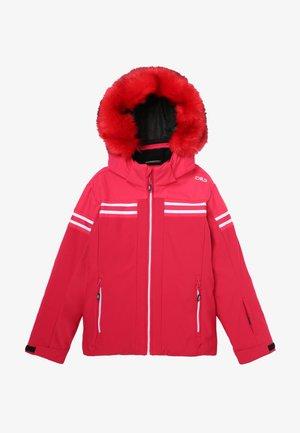 GIRL JACKET SNAPS HOOD - Ski jacket - granita