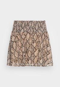 MADELINE SKIRT - A-linjainen hame - brown