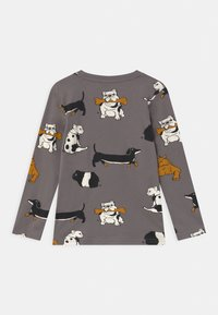 Lindex - AUTHENTIC DOG UNISEX - Long sleeved top - grey - 1