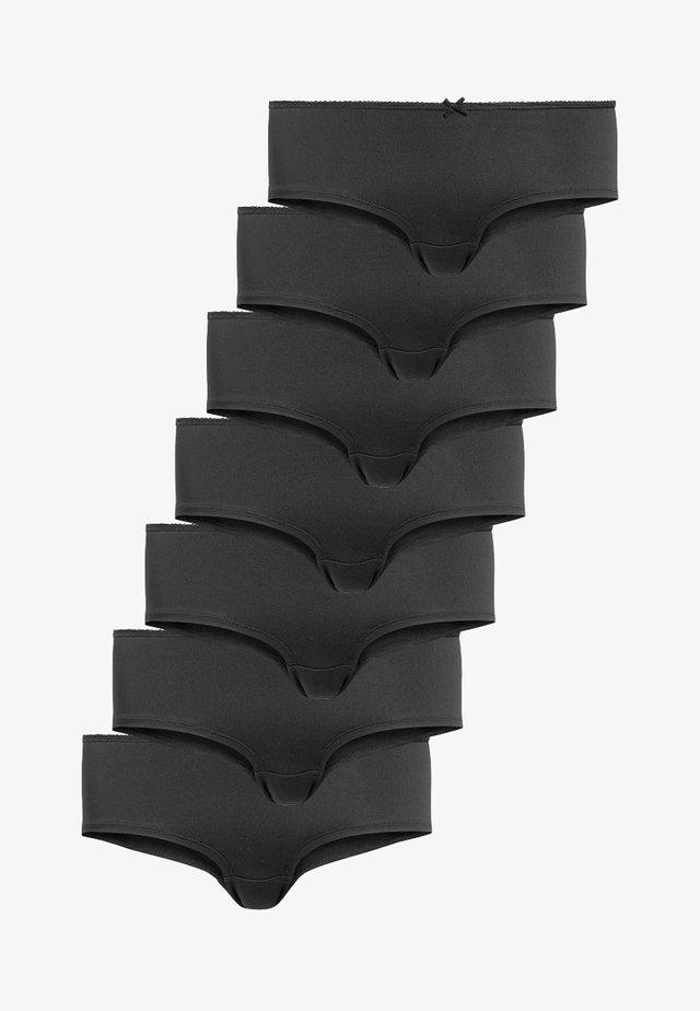 7 PACK - Kalhotky - black