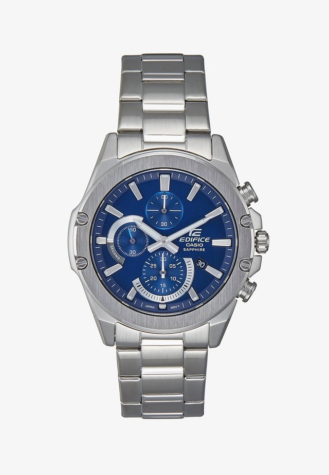 EDIFICE - Chronograph watch - silver