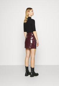 Glamorous - SKIRT - A-line skirt - burgundy - 2
