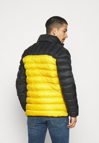 PARELLEX - HYPER JACKET - Light jacket - black/ mustard - 2