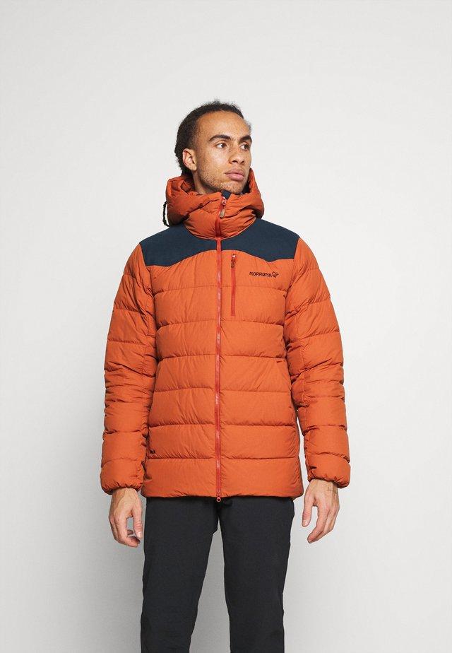 TAMOK JACKET - Lyžařská bunda - orange