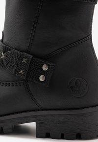 Rieker - Winter boots - schwarz - 2