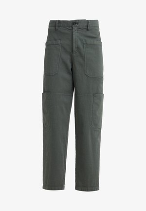 SISSIE - Trousers - caper green
