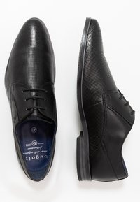 Bugatti - LUCIUS - Smart lace-ups - black - 1