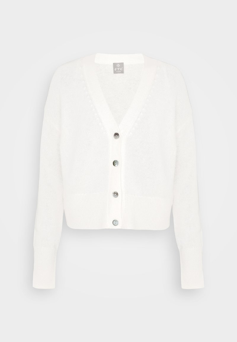 FTC Cashmere - Cardigan - pristine white