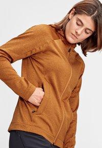 Mammut - NAIR  - Fleece jacket - tumeric melange - 2