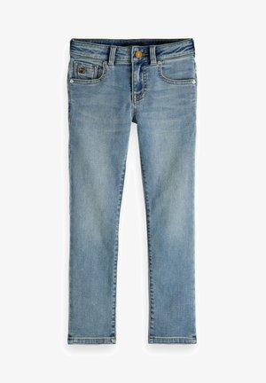 STRUMMER - Slim fit jeans - mottled light blue
