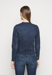 7 for all mankind - JACKET BAIR PARK AVENUE - Denim jacket - dark blue