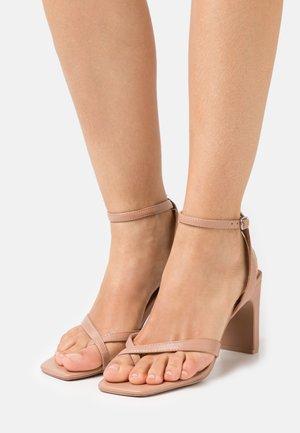 CAWIEL - High heeled sandals - dark beige