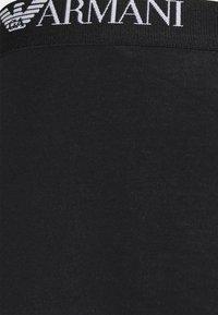 Emporio Armani - TRUNK 3 PACK - Boxerky - black/white/black - 5