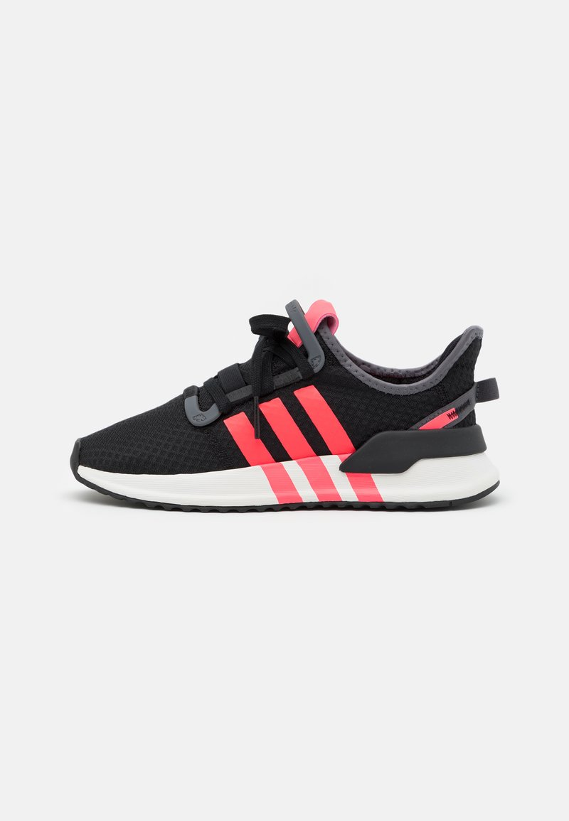 adidas Originals - U_PATH RUN UNISEX - Trainers - core black/flash red/grey five