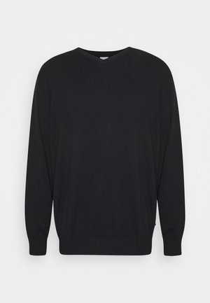 JJEBASIC V NECK - Jumper - black