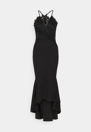 HARLOW FRILL HEM MAXI DRESS - Occasion wear - black