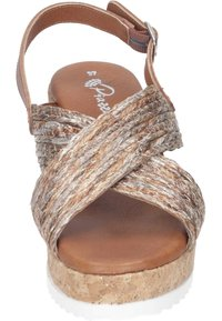 Piazza - Wedge sandals - taupe - 4