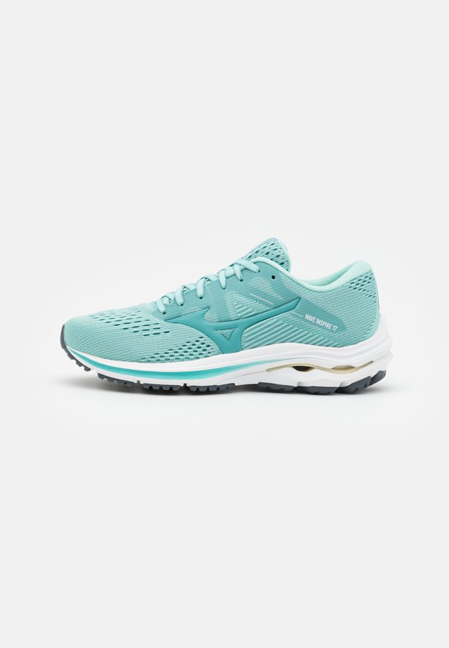 WAVE INSPIRE 17 - Chaussures de running stables - eggshell blue/dusty turquoise/pastel yellow