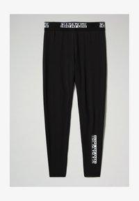Napapijri - M-BOX LEGGINGS - Leggings - Trousers - black - 5