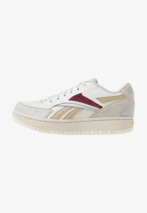 COURT DOUBLE MIX - Trainers - pure grey/chalk/merlot