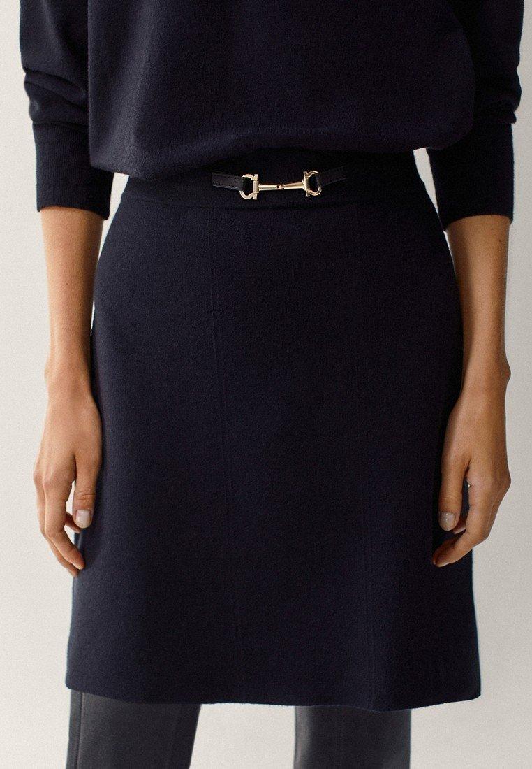 Massimo Dutti - Mini skirt - black
